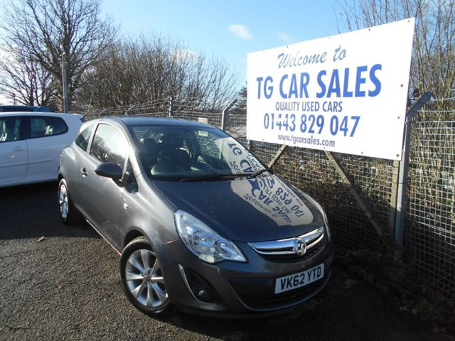 used Vauxhall Corsa Active AC CDTI ECOFLEX in blackwood-gwent