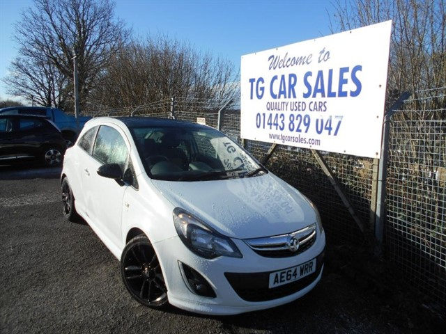 used Vauxhall Corsa Limited Edition in blackwood-gwent