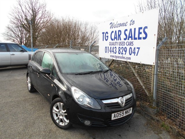 used Vauxhall Corsa SXI A/C 16V in blackwood-gwent