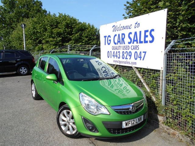 used Vauxhall Corsa Active AC in blackwood-gwent