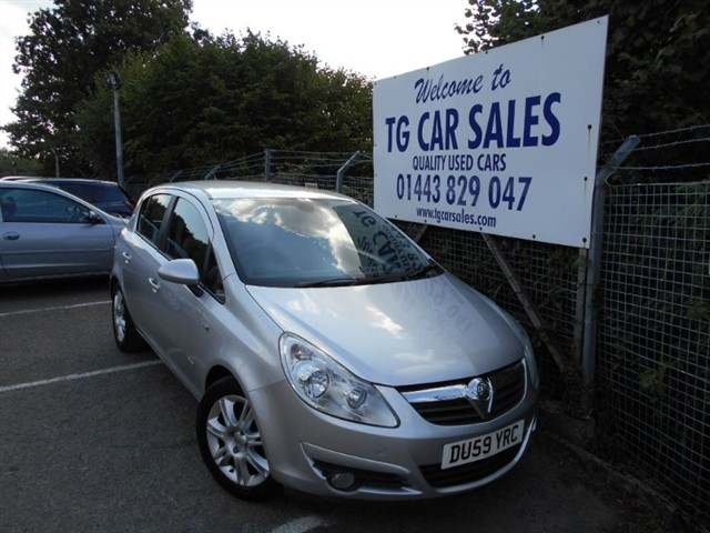 used Vauxhall Corsa Design 16V Twinport in blackwood-gwent