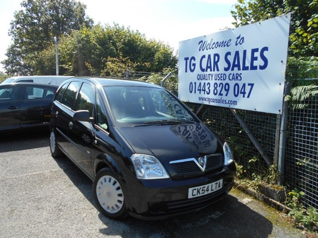 used Vauxhall Meriva Life 16V Twinport in blackwood-gwent