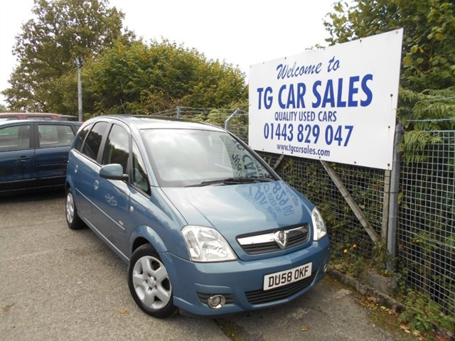 used Vauxhall Meriva Design 16V Twinport in blackwood-gwent