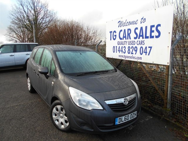 used Vauxhall Meriva S in blackwood-gwent
