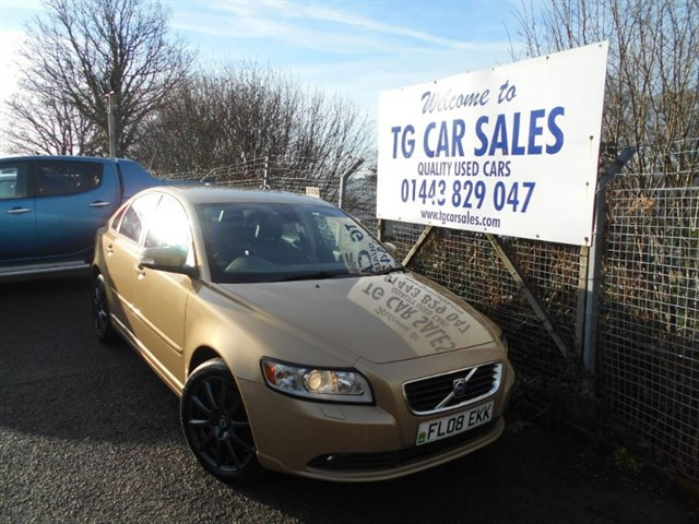 used Volvo S40 SE Lux D in blackwood-gwent