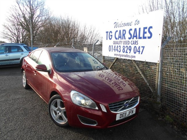 used Volvo S60 D3 SE LUX in blackwood-gwent