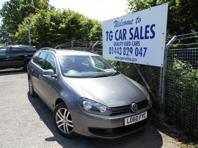 used VW Golf SE TDI Bluemotion in blackwood-gwent