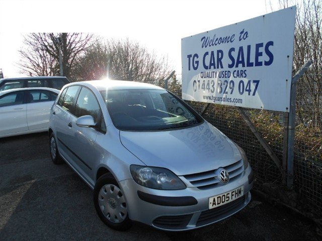 used VW Golf Plus S in blackwood-gwent