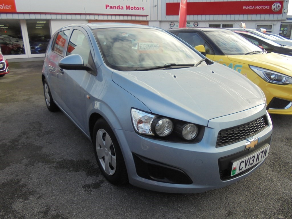 used Chevrolet Aveo LS in in-swansea