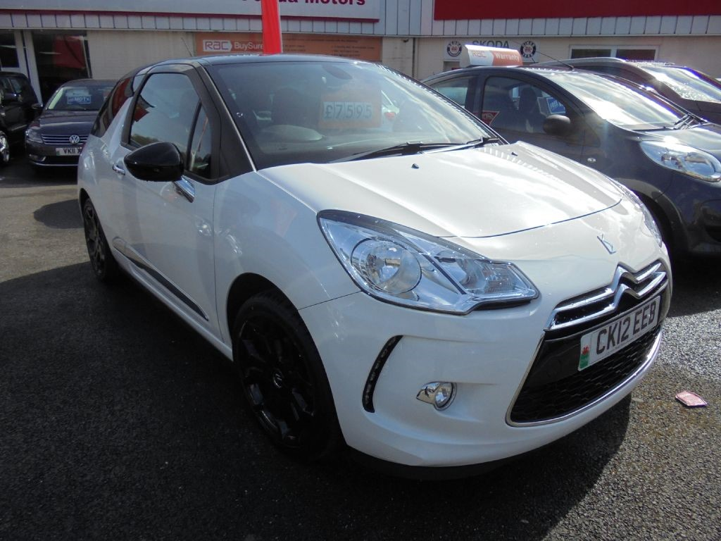 used Citroen DS3 E-HDI DSTYLE PLUS in in-swansea