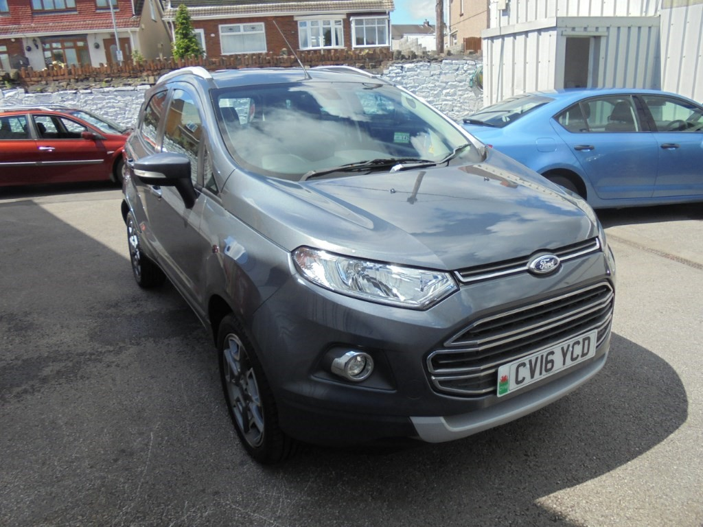 used Ford EcoSport TITANIUM TDCI in in-swansea