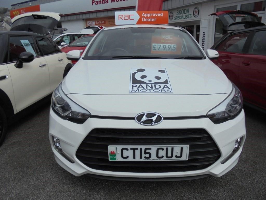 used Hyundai i20 MPI SPORT in in-swansea