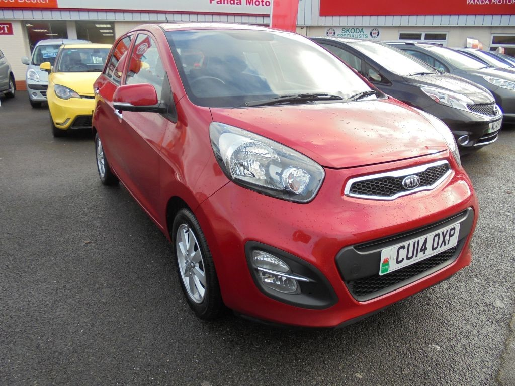 used Kia Picanto 2 ECODYNAMICS in in-swansea