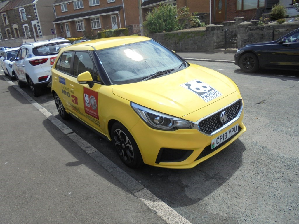 used MG 3 EXCITE in in-swansea