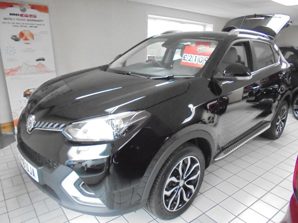 used MG ZS EXCLUSIVE DCT in in-swansea