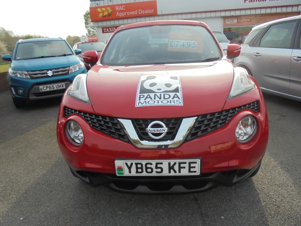 used Nissan Juke VISIA in in-swansea