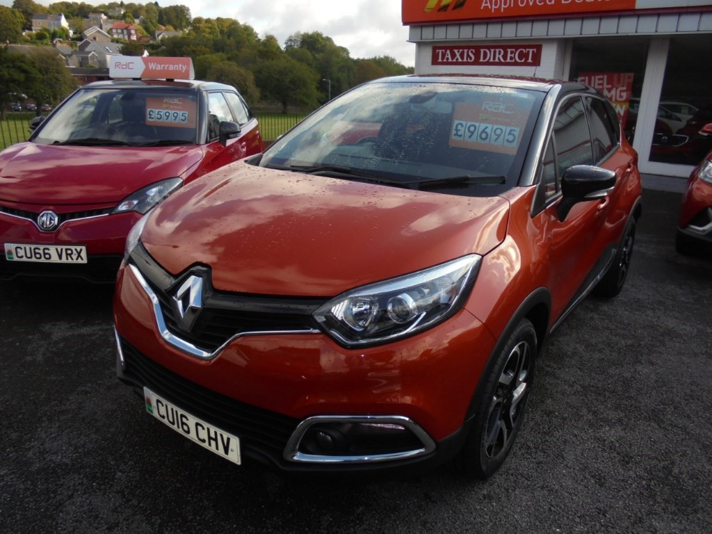 used Renault Captur DYNAMIQUE S NAV TCE in in-swansea