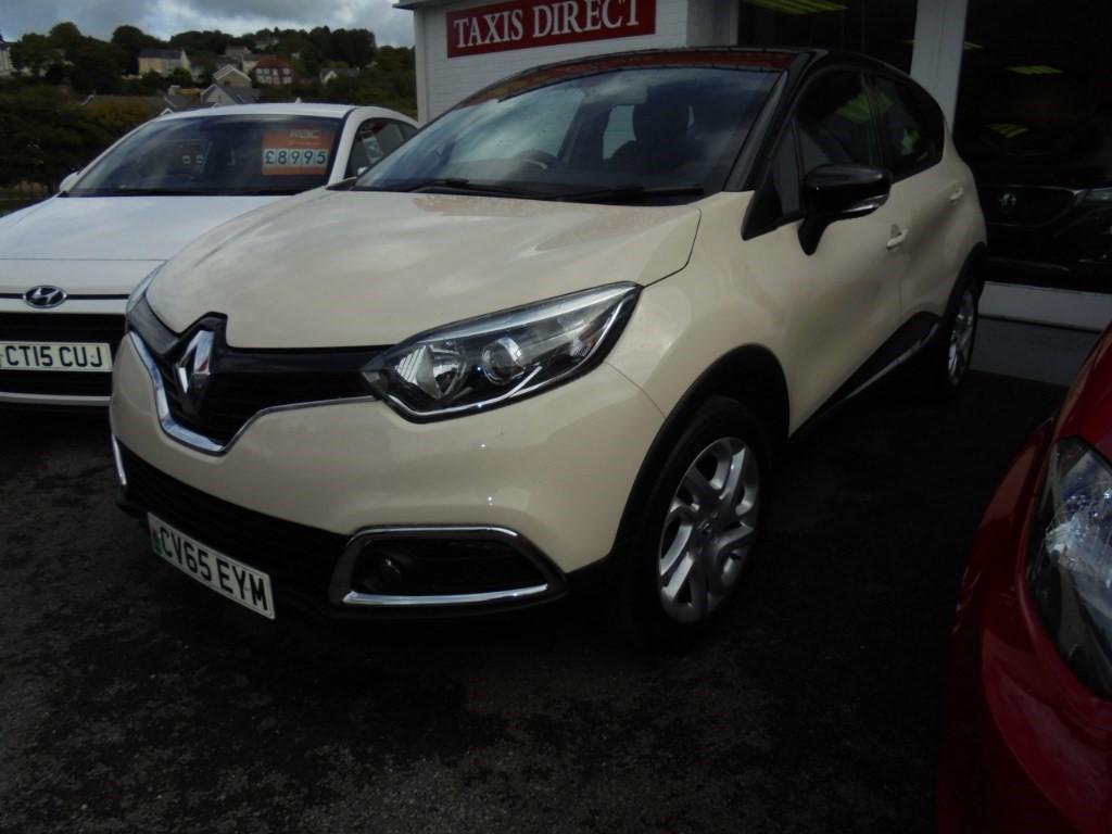 used Renault Captur DYNAMIQUE NAV TCE in in-swansea