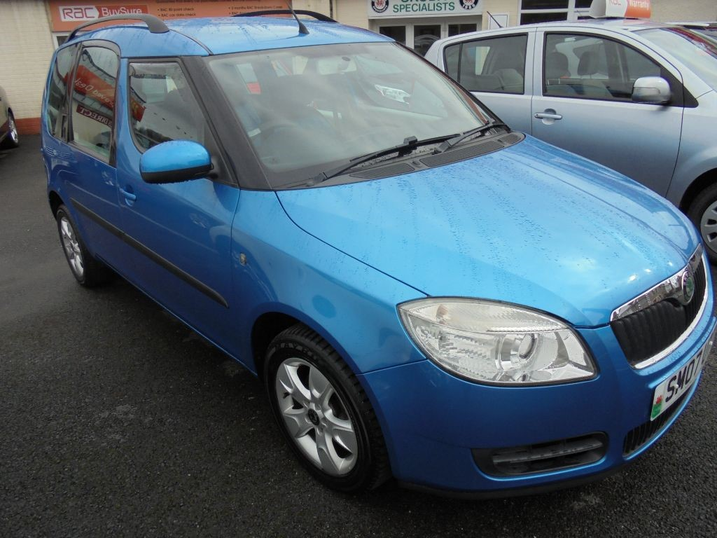 used skoda roomster for sale landore swansea. Black Bedroom Furniture Sets. Home Design Ideas