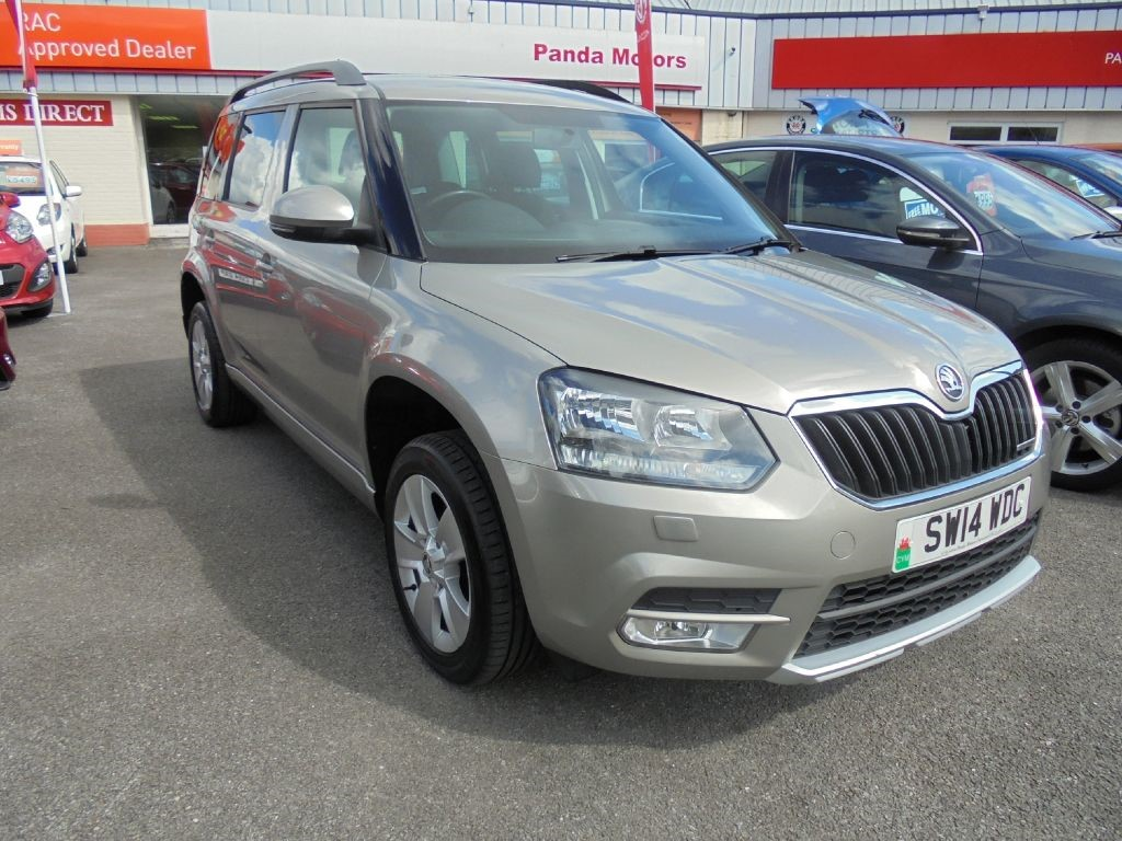 used Skoda Yeti SE GREENLINE II TDI CR in in-swansea