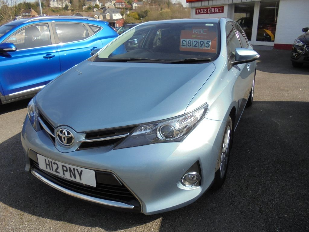 used Toyota Auris ICON VALVEMATIC in in-swansea