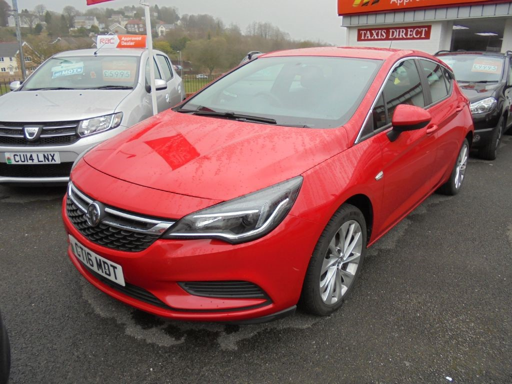 used Vauxhall Astra ENERGY ECOFLEX S/S in in-swansea