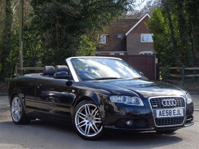 Audi A4 in Tadworth Surrey