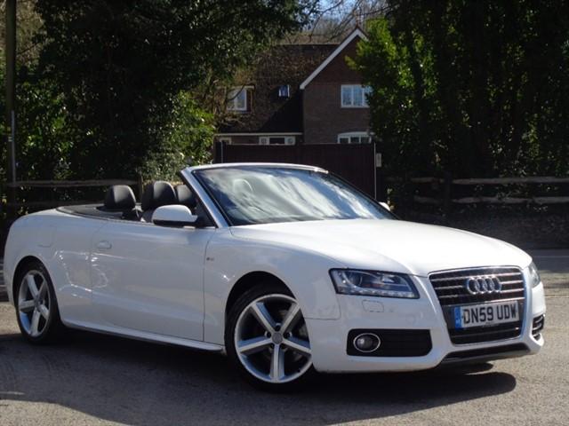 Audi A5 in Tadworth Surrey