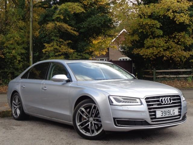 Audi A8 in Tadworth Surrey
