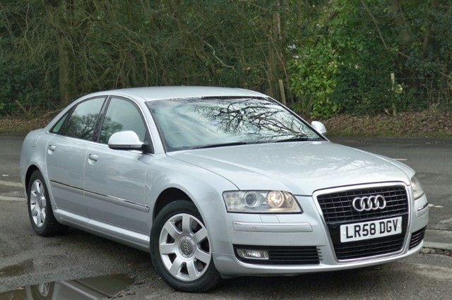 Audi A8 in Tadworth Surrey