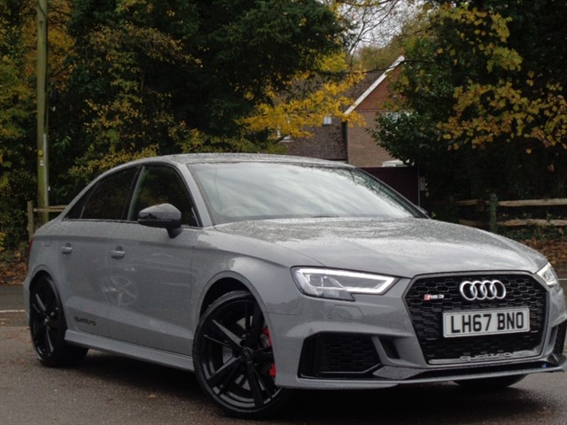 Audi RS3 in Tadworth Surrey