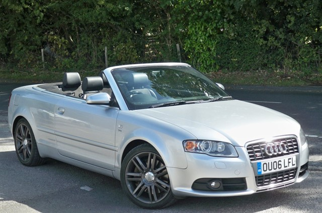 Audi S4 in Tadworth Surrey