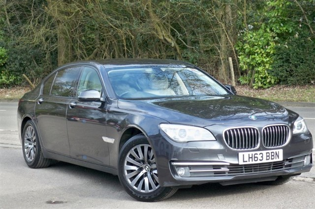 BMW 730ld in Tadworth Surrey