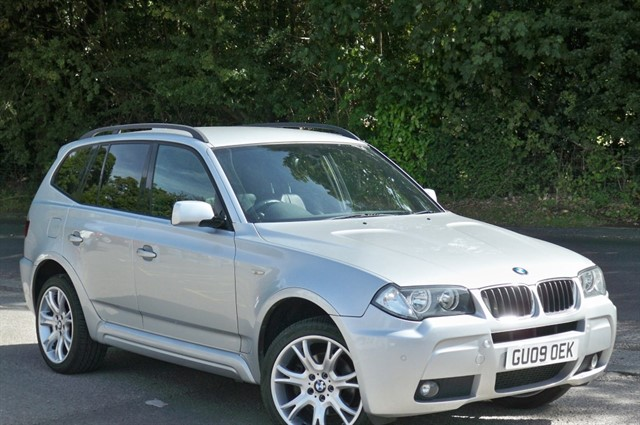 BMW X3 in Tadworth Surrey