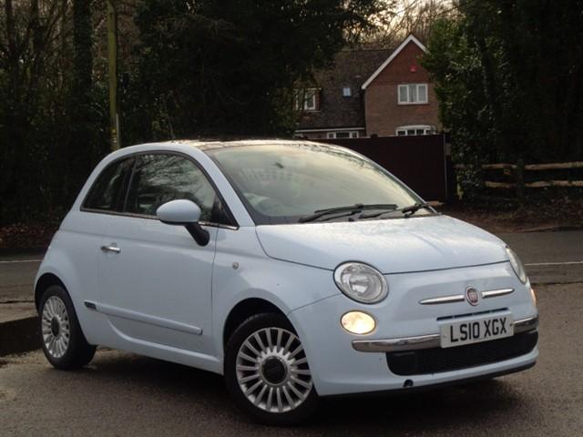 Fiat 500 in Tadworth Surrey