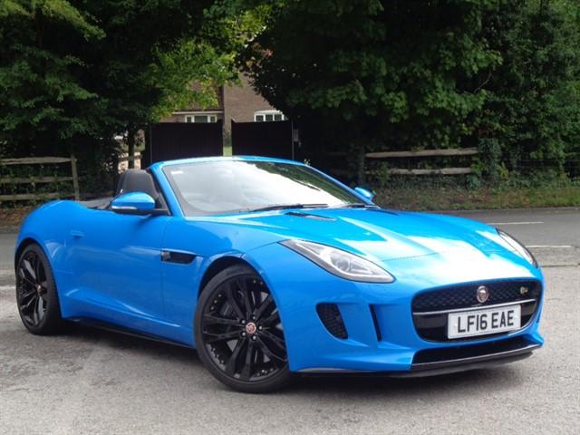 Jaguar F-Type in Tadworth Surrey