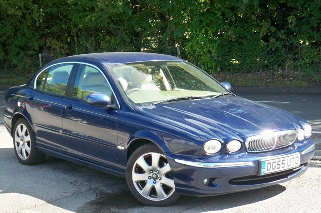 Jaguar X-Type in Tadworth Surrey