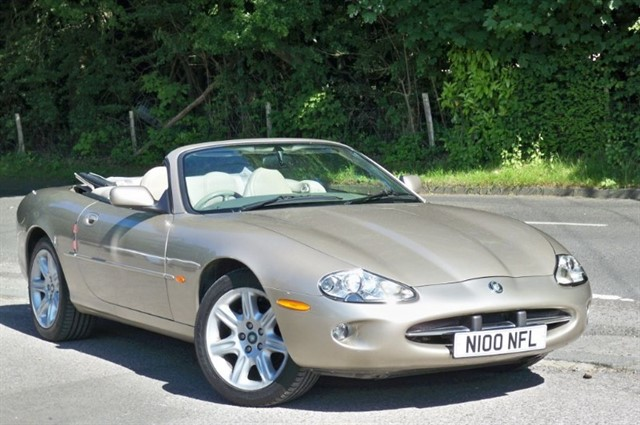 Jaguar XK8 in Tadworth Surrey