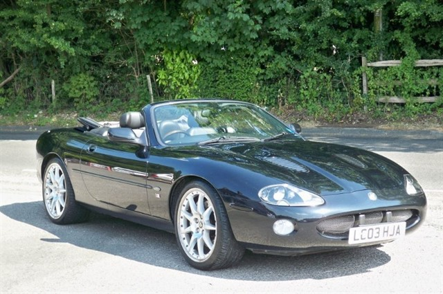 Jaguar XKR in Tadworth Surrey