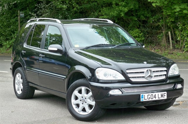 Mercedes ML270 in Tadworth Surrey