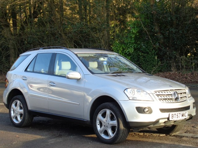 Mercedes ML320 in Tadworth Surrey