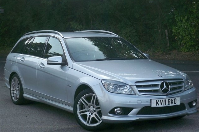 Mercedes C250 in Tadworth Surrey