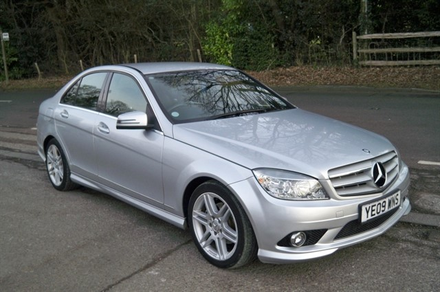 Mercedes C200 in Tadworth Surrey