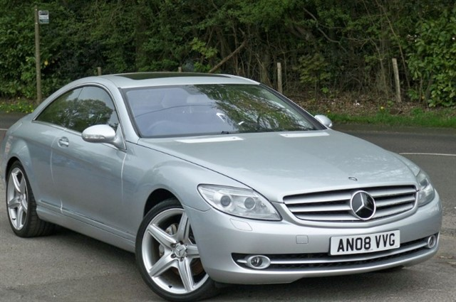 Mercedes CL500 in Tadworth Surrey