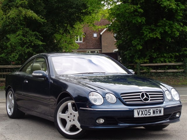 Mercedes CL500 in Tadworth Surrey