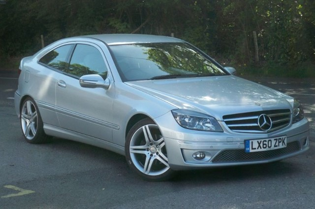 Mercedes CLC200 in Tadworth Surrey