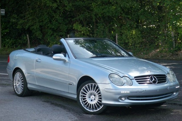 Mercedes CLK200 in Tadworth Surrey