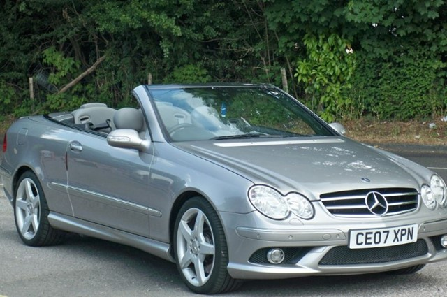 Mercedes CLK350 in Tadworth Surrey