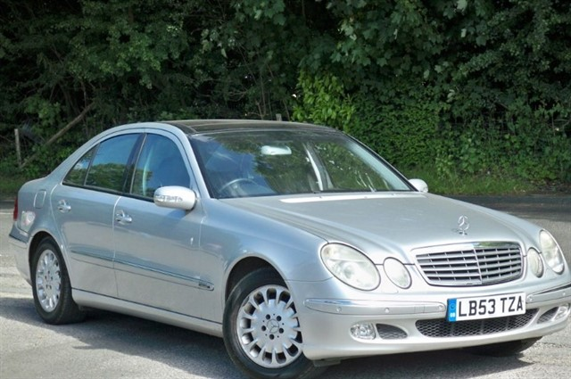 Mercedes E320 in Tadworth Surrey