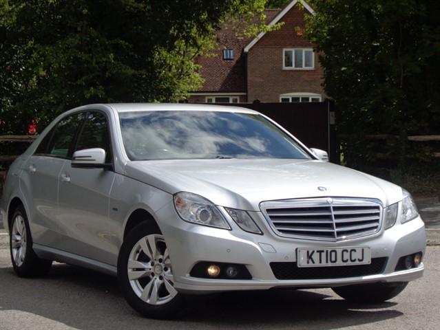 Mercedes E200 in Tadworth Surrey